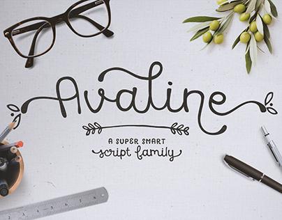 Avaline Script Family