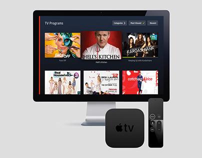 StofaAPP for Apple TV (IPTV GUI)