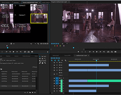 My Video Editing Projects (Adobe Premiere Pro)