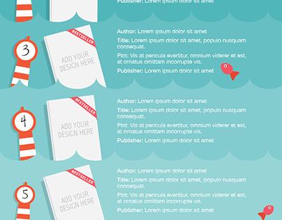 infograph   summer book   project