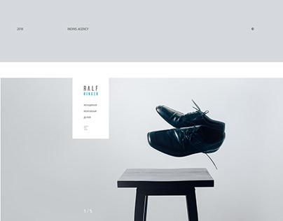 Ralf Ringer website concept