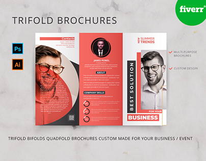 Tri-fold Brochures Template