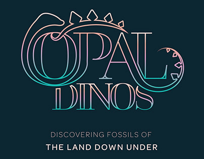 Opal Dinos Exhibition Branding and Design