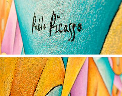 Pablo Picasso Chalkboard