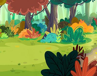 Animation scenery
