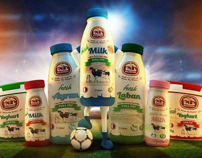 Milk Soccer Team - AFC 2019 Celebration