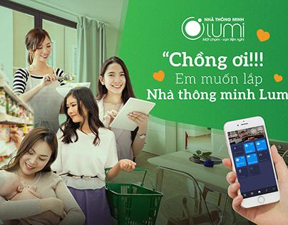 Lumi Smart Home Facebook AD Campaign design