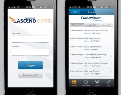 FusionStorm Ascend App