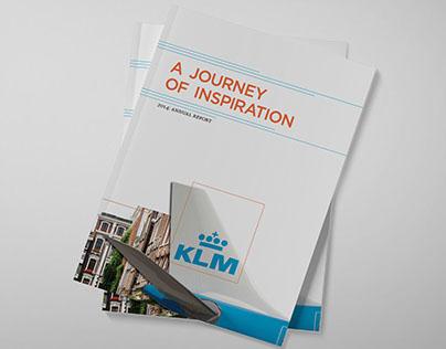 KLM Annual Report Re-design