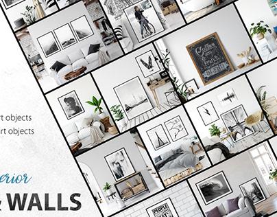 Frames & Walls Scandinavian Collection Vol 2 By:Yuri-U