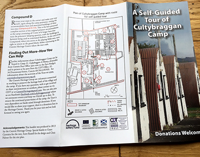 Cultybraggan self guided tour leaflet