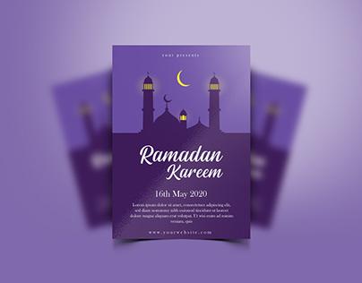 Ramadan Poster Design - FREE