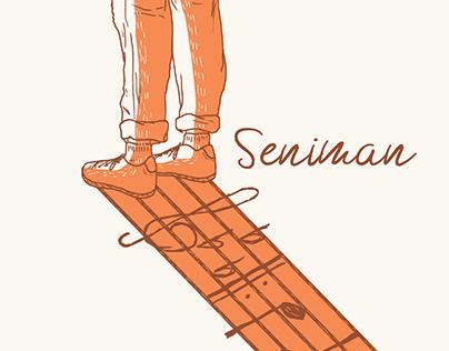 Seniman - Illustrated Lyrics Book
