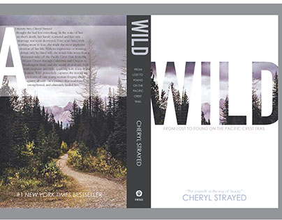 Book Redesign: WILD by Cheryl Strayed