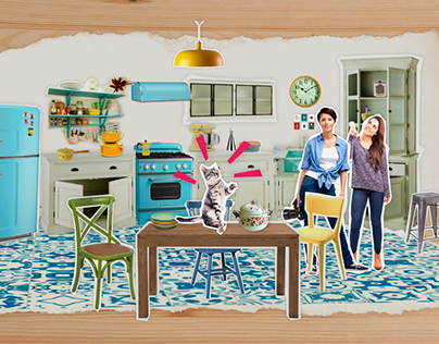 """LA CASA AGENCY"" TV COMMERCIAL SET DESIGN"