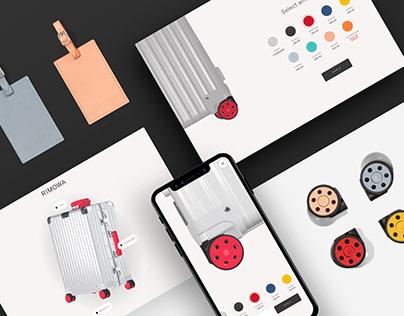 Rimowa E-commerce website