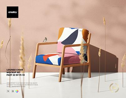 Lounge Chair Mockup Set (22FFv.10)