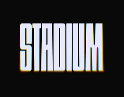 STADIUM - FREE DISPLAY FONT