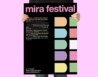 Mira festival Visual identity proposal
