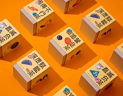 ANTI-FRAGILE HEALTH TEA PACKAGE 有元气 · 反脆弱养生茶 | 包装设计