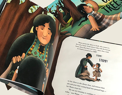 These Olive Trees - Children's Book