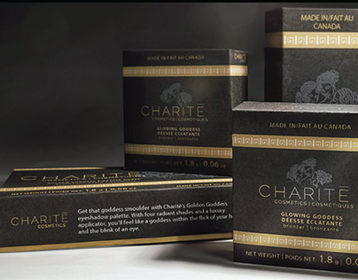 Charitē Cosmetics - Packaging Design