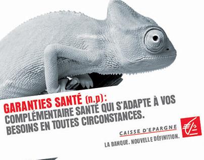 Proposition affiche Caisse d'Épargne