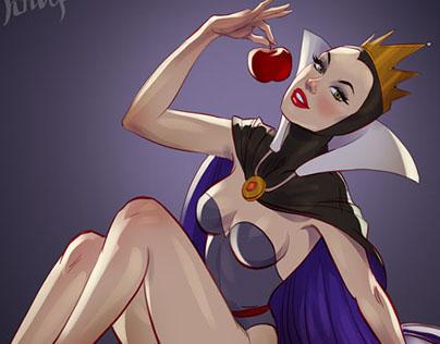 Disney Villains Pin-Up