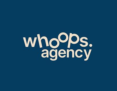 Whoops Agency / identité visuelle