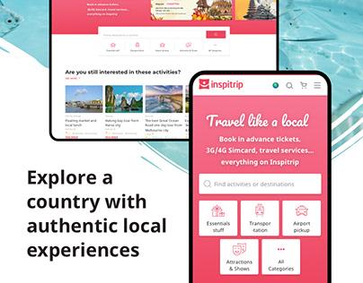 Inspitrip - Travel services booking platform