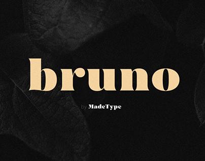MADE Bruno | Font
