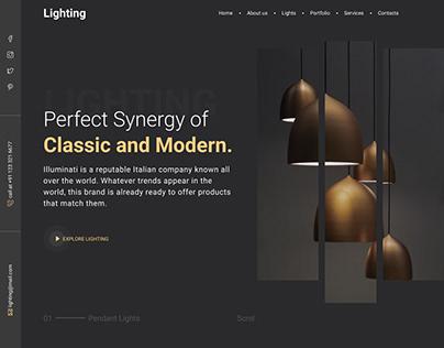 Hero image: Lighting Shop
