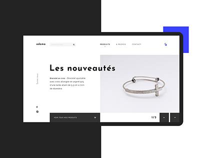 A D A M A | UI & UX design