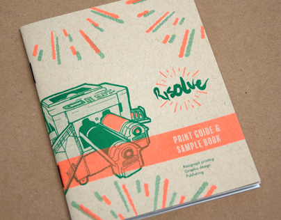 Risolve Print Guide and Sample Book