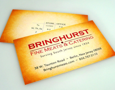 Bringhurst Meats Website