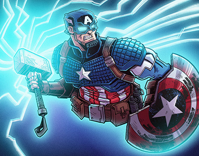 The Mighty Captain America