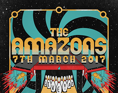 Whelan's Gig Poster // The Amazons