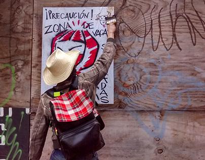 Intervención artística en UAM Xochimilco