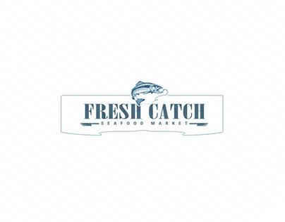 Fresh Catch Seafood Market Branding Concept