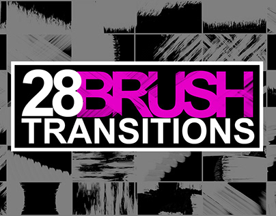 Brush Transitions Pack