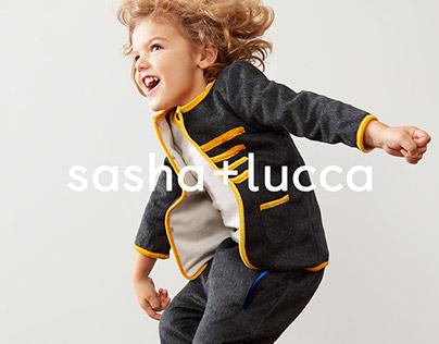 sasha + lucca Brand Identity