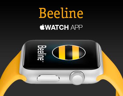 Beeline Apple Watch App