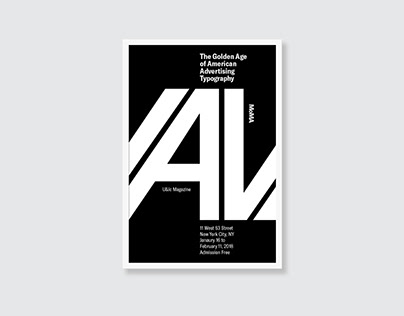 MoMA Typographic Poster Project