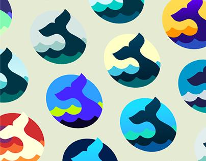 Waterlogue Pro: macOS app icon design