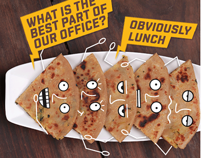Communication Designs for HELLO CURRY