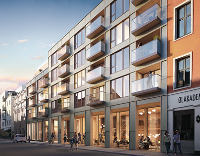 Housing project in Oslo, Norway