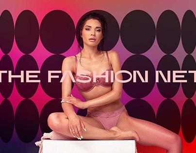 The Fashion Net Ecommerce Website Branding