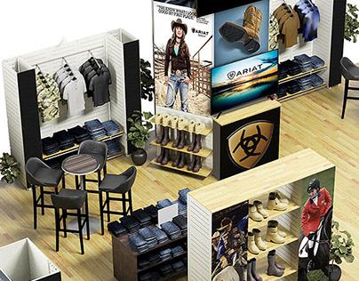 3D Renderings: Mock-Ups of Convention Display Designs
