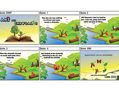 Story Board and Booklet Design