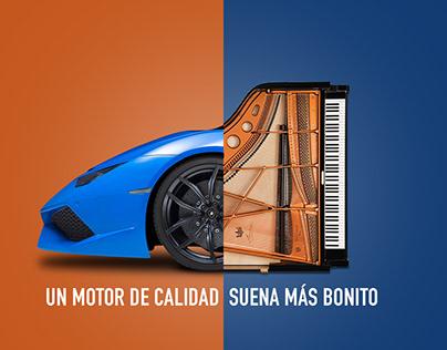 Auto Piano / Publicidad para IRS de México